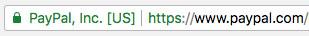 Certificado SSL - Paypal